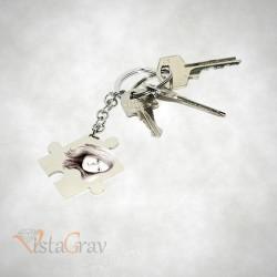 Porte-clé Puzzle à Graver