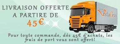 livraison gratuite dés 45€